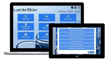 Logiciel Lacta'Box